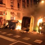 Una treintena de detenidos tras los disturbios de anoche en Barcelona, Tarragona y Lleida