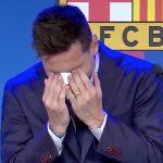 """Messi: """"Hice todo lo posible por quedarme y no se pudo"""""""